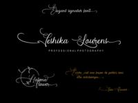 wandita signature font