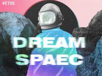 Dream Spaec astronaut graphic design deepminded