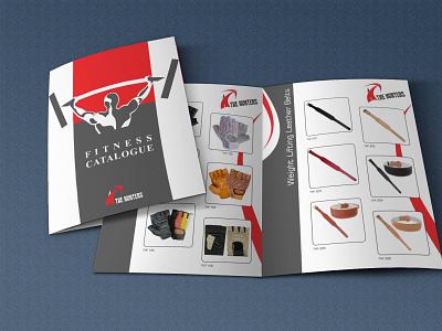 Fitness Catalog Designed illustration designer uae dribbble logo client branding graphicdesign dubai🇦🇪 design