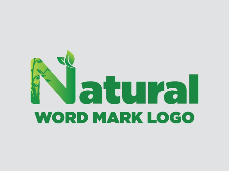 nature logo design by md sadekul islam on dribbble nature logo design by md sadekul islam