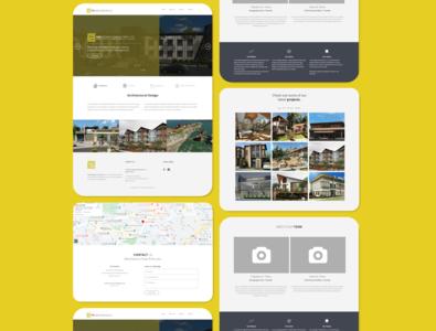 T&D Design Consultancy Co. Design Idea # 2 contact about landingpage webdesign front-end development