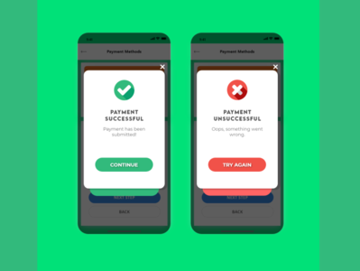 Daily UI #006 - Flash Message flash message design mobile ui design mobile ui dailyuichallenge