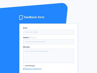 Feedback Form - XD Freebie adobe xd design download feedback form free freebie ui