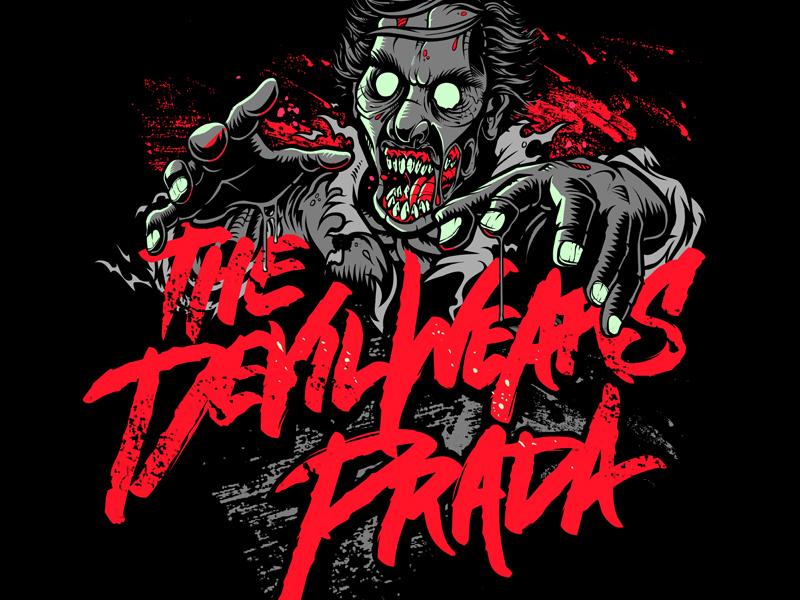 The Devil Wears Prada Zombie By Nicolo Nimor Dribbble