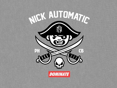 Pirates   T-Shirt Design merchandise design merch design t-shirt tshirt pirate