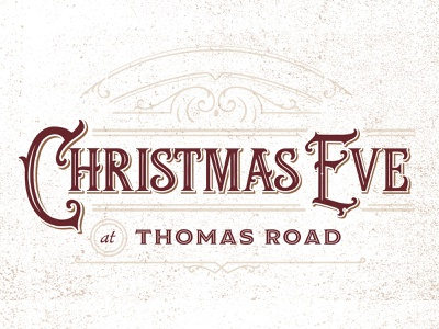 Christmas Eve at Thomas Road illustrator illustration youth group design christmas christmas eve church christmas church design sermon graphic sermon series typography