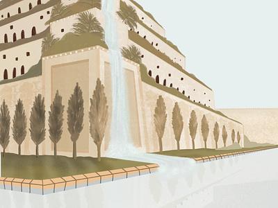 Babylon ancient babylon church design procreate design illustrator illustration