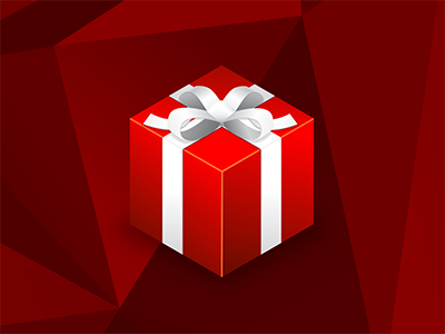 It's this time of the year again illustrator photoshop illustration isometric gift present