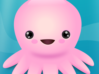 Wallpaper Octopus Puzzle illustration vector game