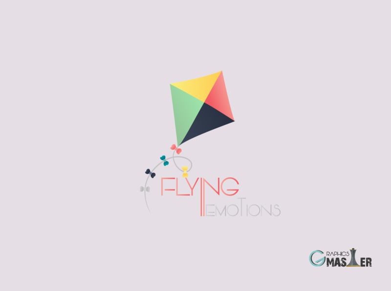 Logo Design- FLYING EMOTIONS logo mark logo inspiration font style font design typography cartoon logo mascot logo combination logo iconic logo flat logo custom logo 3d logo 2d logo gradient logo luxury logo business logo professiona logo minimalist logo minimal logo