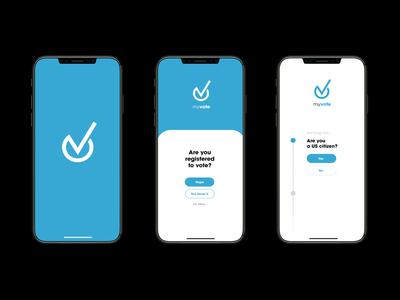 MyVote - Voter Registration App Concept