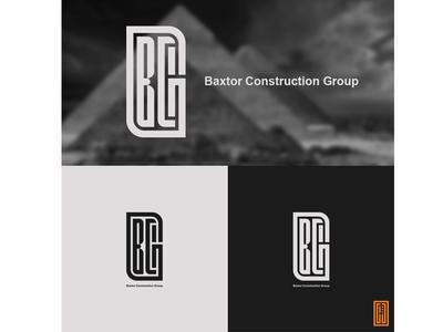 Baxtor construction Group logo design