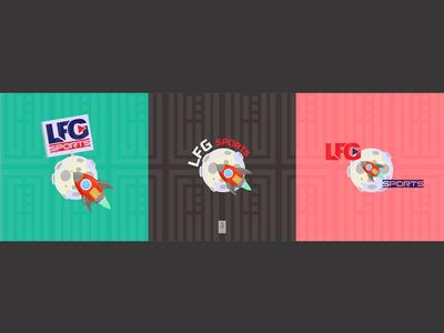 LFG Sporte logo design