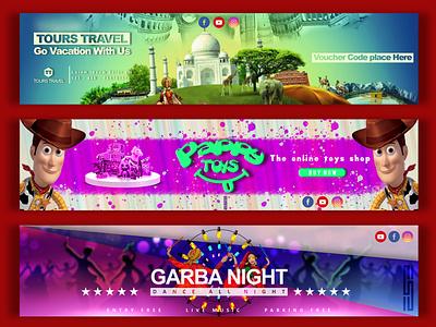 Banner Design web branding