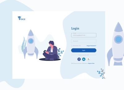 Trace Login Page