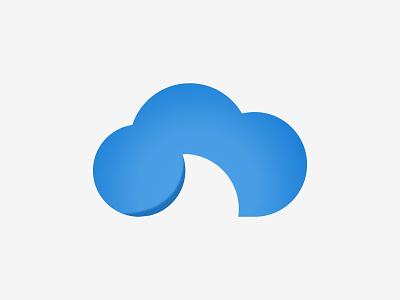 Shark fin cloud logo clouds blue logo design flat simple symbols icon shark fin logo shark logo cloud logo cloud logodesign logo branding