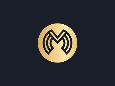 Maililou logo minimalist logo icon branding logogrid logos m logo gold logo simple logo retail logo retail design luxury logo logodesigner logodesign minimalist logo