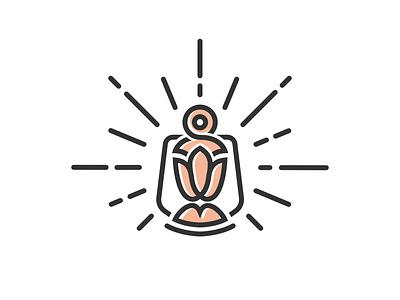 Lantern Magical Flower  Logo simple logo inspiration logo ideas logoinspiration logosketch magic lantern lanterns logodesign logodesigner symbols icon branding logos logo lamp logo flower logo magic logo lantern logo