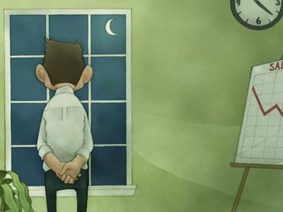 Sales Factory spread childrens book window cartoon spread