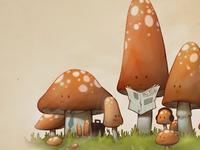 Mushroom Bus Stop