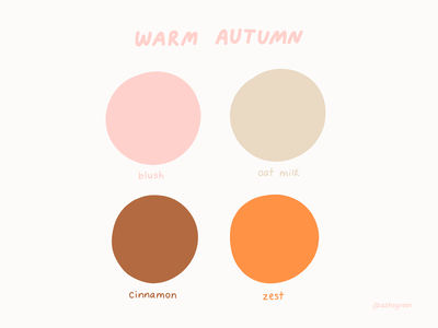 Autumnal colours swatches fall colors brown cream pink orange autumn fall colour palette color palette