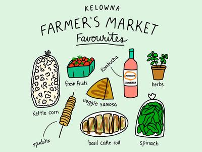 Farmer's Market favourites