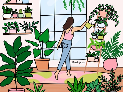 Water your plants