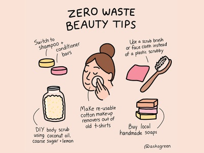 Zero Waste Beauty Tips