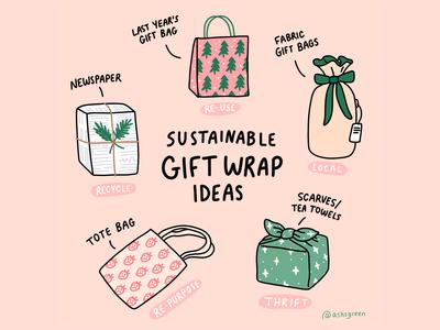 Sustainable Gift Wrap Ideas