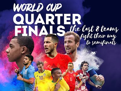 World Cup Quarter Finals kane modric hazard players teams football soccer finals quarters world cup cup world