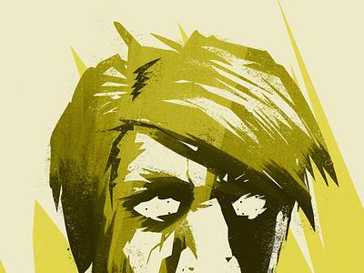 Graphic Novel Style Portrait in progress character concept art vis dev digital art graphic novels illustration