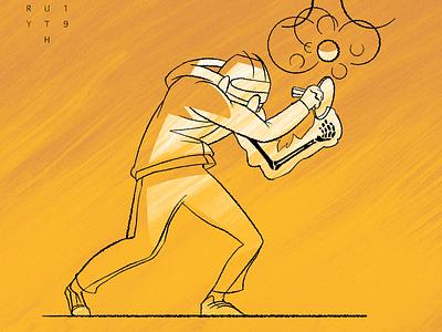 Secret Move comic sci fi alien character concept art character design illustration