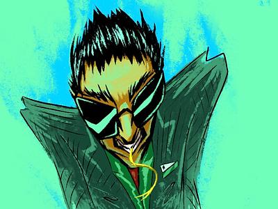 Luck character design illustrator cards money poker gambling character