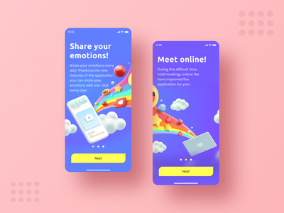Onboarding Social App daily 100 challenge share social app app illustrator onboarding illustration onboarding screen daily ui illustration ux onboarding ui daily ui 023 apple dailyui minimal daily challange design ui