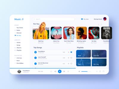 Music Web App