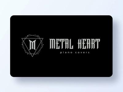 Metal Heart Logo