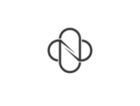 Infinity N Logo Design