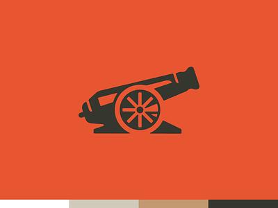 Cannon identity branding icon logo cannon