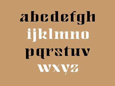 Custom Font typeface typography font type