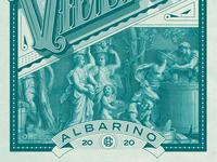 Balderdash Wine packaging illustration wine bottle wine label winery wine