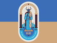 Blue Ox Vail Ski Run Poster