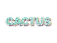 Cactus Type Experiment 3