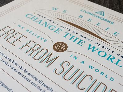 LivingWorks Manifesto Poster