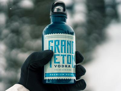Grand Teton Distillery 375ml Vodka Packaging