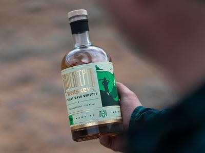 Grand Teton Distillery Gamekeeper Whiskey Label