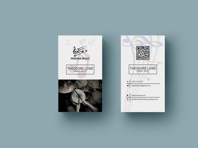 Music Business Card 2