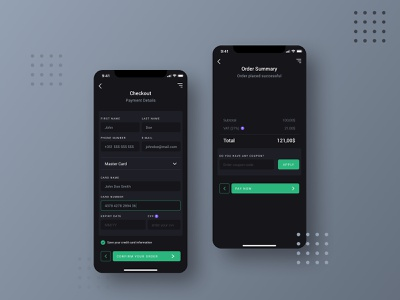 Credit Card Checkout daily ui 002 daily ui design mobile app mobile ui web design ux design uiux design uidesignchallenge uidesign app ui