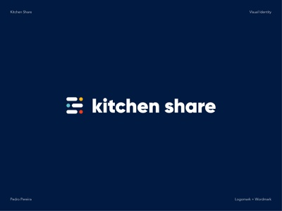 Kitchen Share Logo logomark wordmark app logo design logotype designer logotype design modern design branding design logo design concept logo design logo designer modern logo logo delivery logo food logo logotype share kitchen logo branding graphic design