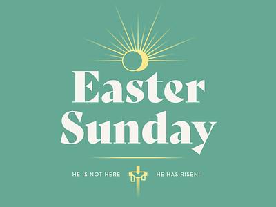 Easter Sunday 2020 resurrection sunday rays spring church sermon sun cross resurrection sunday easter