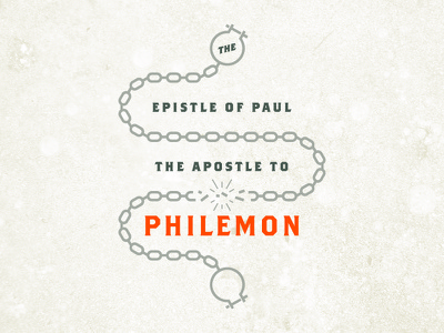 Philemon slavery freedom chains church sermon bible philemon